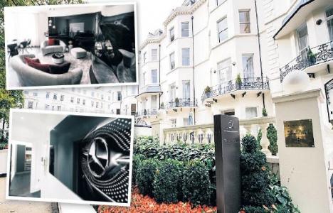 Mercedes Londra'da konaklama