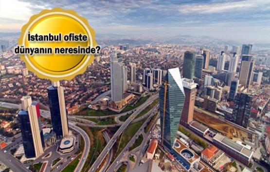 İstanbul, dünya ofis piyasasının gelişen kentleri arasında!