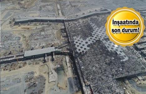 3. Havalimanı inşaatı havadan görüntülendi!