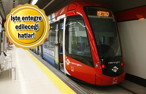 Kabataş-Mecidiyeköy-Mahmutbey Metro Hattı'nda