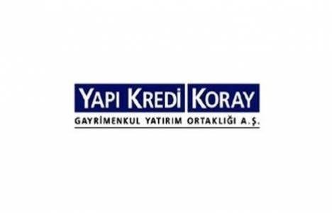 Yapı Kredi Koray GYO'nun esas sözleşme tadili tescillendi!