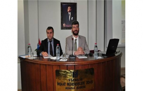 Adana'da İnşaat Mühendisleri Odası yol sorunlarına çözüm getirdi!