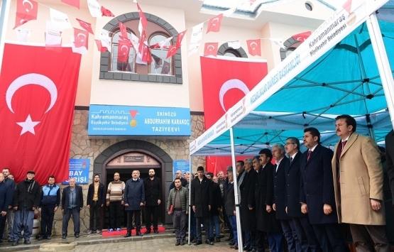 Kahramanmaraş Ekinözü Sosyal Tesisi açıldı!