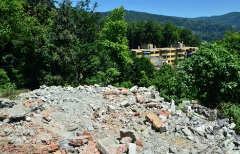 Zonguldak Çınartepe'de yıkım çalışmaları sürüyor!