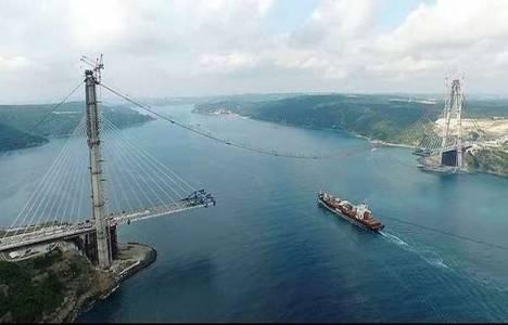 3.Köprü'deki çalışmalar hız