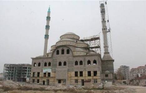 Niğde Fatih Sultan Mehmet Camii'nin yüzde 70'i tamam!