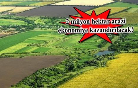 İşlenmeyen araziyi devlet