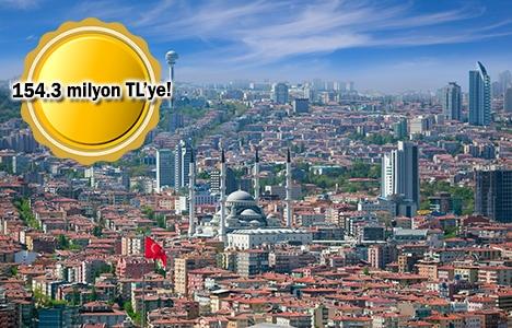 Ankara'da icradan satılık arsa!