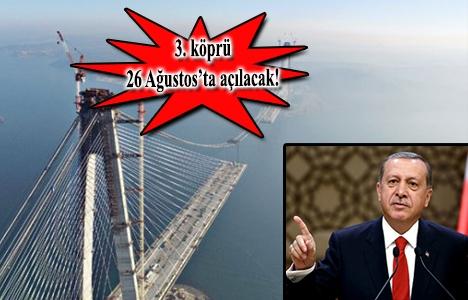 3. köprü ile Pekin'e kadar bağlantı yolu kurulacak!