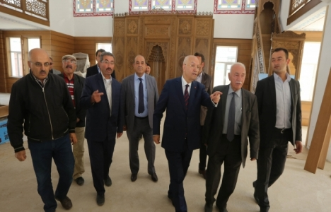 Fethi Yaşar'dan Yenimahalle'deki Ufuk Camii inşaatına destek!