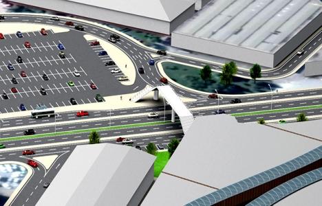 41 AVM ile Outlet Center arasına yeni köprü geliyor!