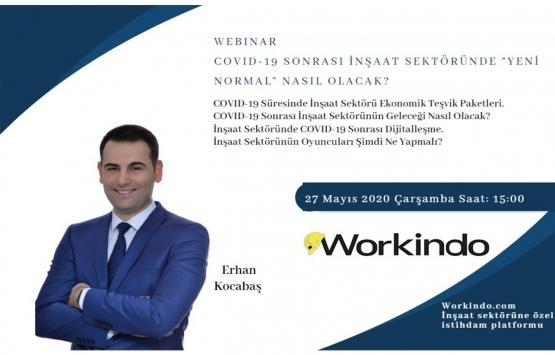 COVID-19 Sonrası İnşaat Sektörünün Yeni Normali Webinar'ı 27 Mayıs'ta!
