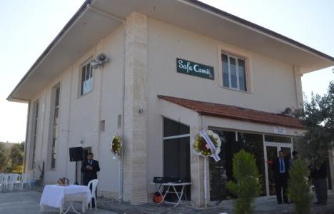 Manisa Safa Camii hizmete açıldı!