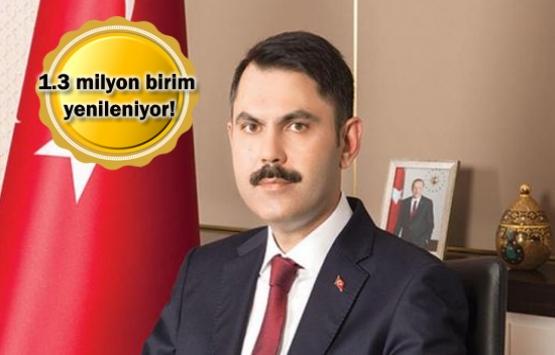 Murat Kurum: 7.5 milyon riskli yapı dönüşecek!