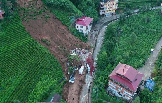 Rize'deki selde 47 bina yıkıldı, 99 binada ağır hasar var!
