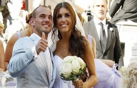 Wesley Sneijder'in Ibiza'da