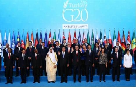G20 Liderler Zirvesi'nde