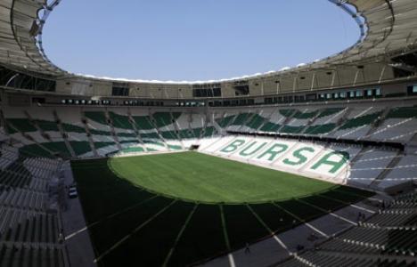Timsah Arena bugün açılıyor!