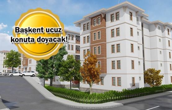 TOKİ'den Ankara'ya 548