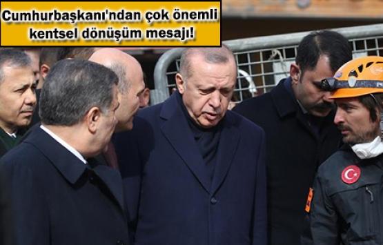 Cumhurbaşkanı Erdoğan: Kartal'dan almamız gereken dersler var!