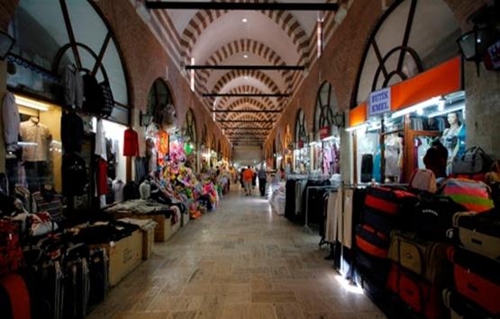 Edirne'de tarihi Alipaşa Çarşısı'nın kapıları açıldı!