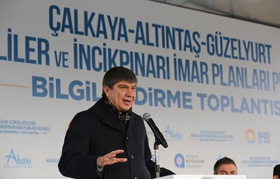 Antalya Çalkaya'nın imar