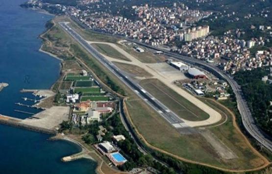 Trabzon Havalimanı'nın pisti