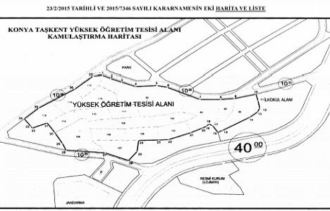 Konya Taşkent'te TOKİ'den acele kamulaştırma!