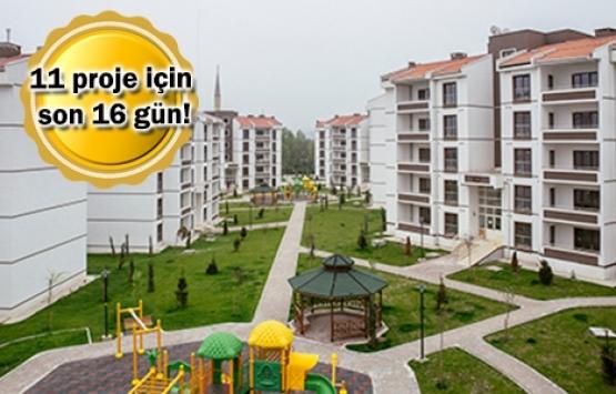 TOKİ'den dar gelirli vatandaşlara 1.685 konut!