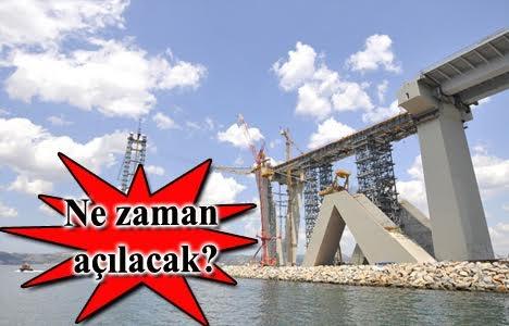 İzmit Körfez Köprüsü viyadüğü 5 Temmuz'da tamamlanacak!