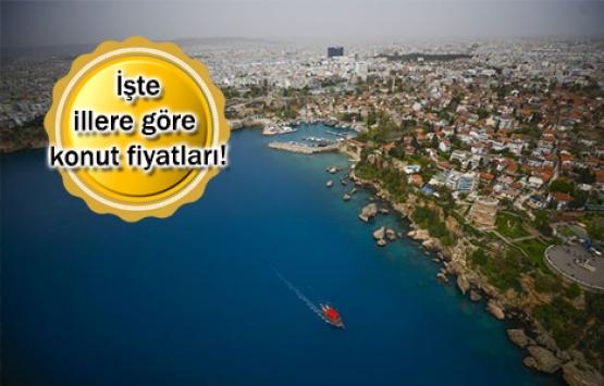 Konut fiyatları Anadolu sahillerinde yükselişte!