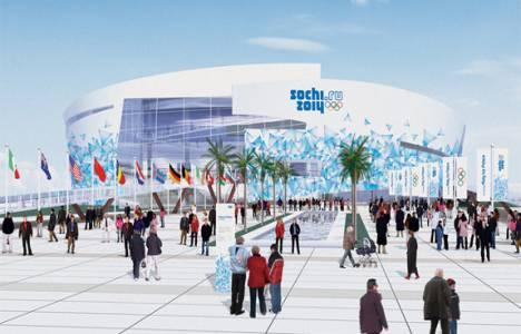 Soçi Olimpiyatı 2014'te