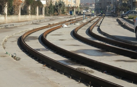 Akçaray tramvay hattının