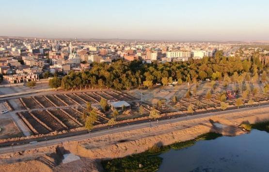 Diyarbakır Bismil Millet Bahçesi için düğmeye basıldı!