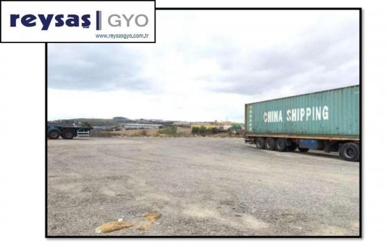 Reysaş GYO Gebze'deki açık deposunu 4.1 milyon TL'ye kiraya verdi!