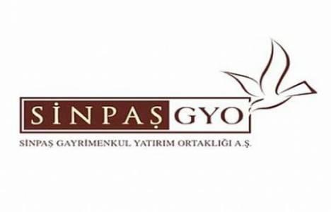 Sinpaş GYO konut teslim verilerini yayınladı!