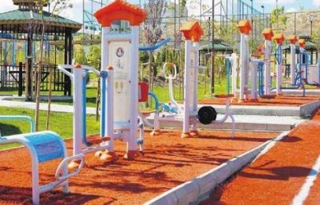 Sincan Belediyesi ilçe parklarını düzenliyor!
