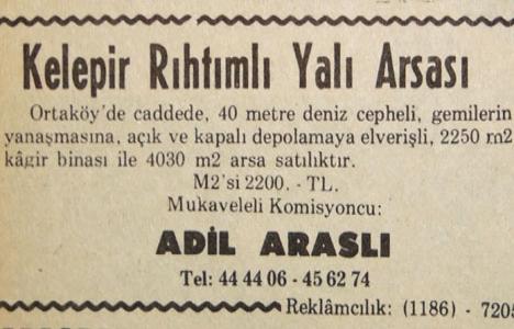 1974 yılında Ortaköy'de
