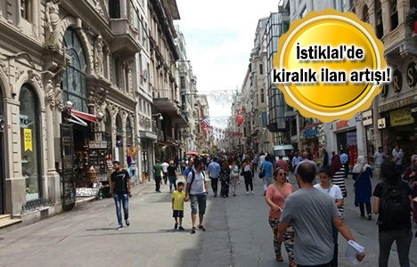 Esnaf, İstiklal Caddesi'ni