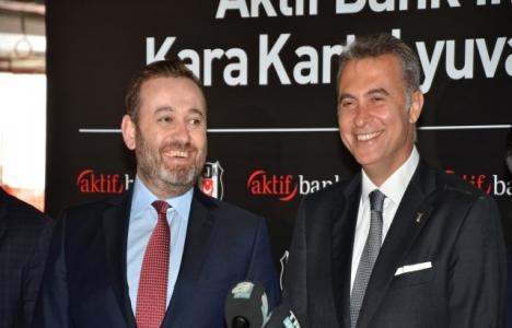 Aktif Bank, Vodafone Arena'nın finansman desteğini sağlayacak!