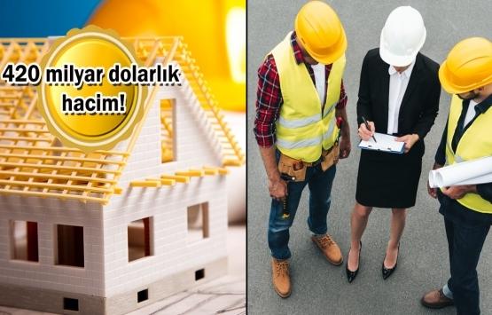 Türk müteahhitler 128 ülkede 10 bini aşkın proje üstlendi!