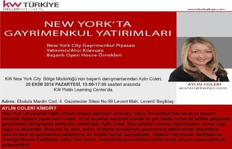 New York'ta Gayrimenkul Yatırımları Semineri Türkiye'de!