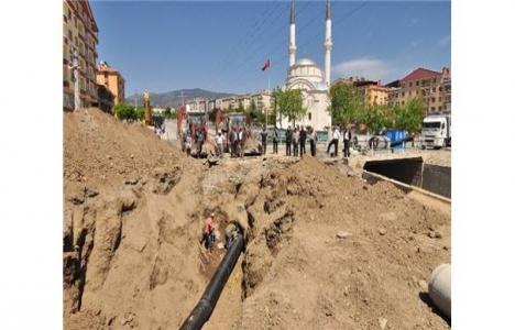 Tosya'da ana kanal