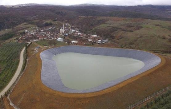 Bursa gölet inşaat