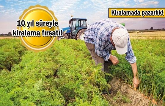 Hazine arazisinde çiftçilik dönemi!