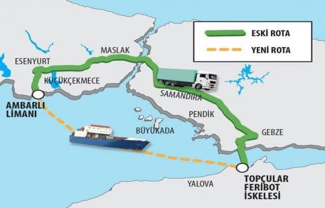 Ambarlı'ya Ro-Ro projesi için özel liman yapılacak!