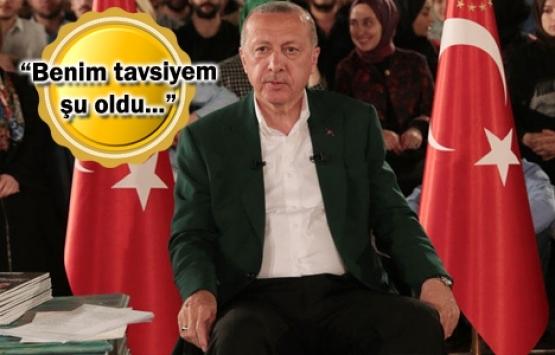 Cumhurbaşkanı Erdoğan'dan yatay mimari mesajı!