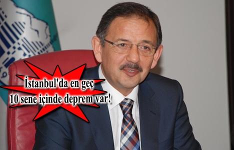 Mehmet Özhaseki: Kentsel dönüşümü hızlandırmalıyız!