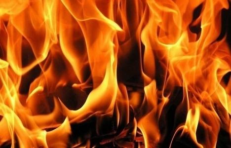 Beylikdüzü'nde yangın