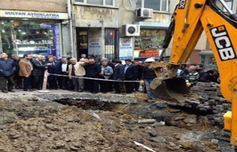 Karaköy yol çalışmaları